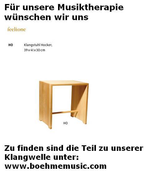 Feeltone Klangwelle Hocker