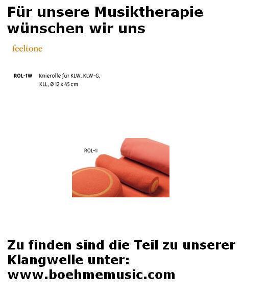 Feeltone Klangwelle Knierolle