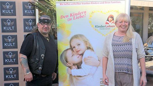 KultCafe Hamburg 2016 Spende an KinderLeben